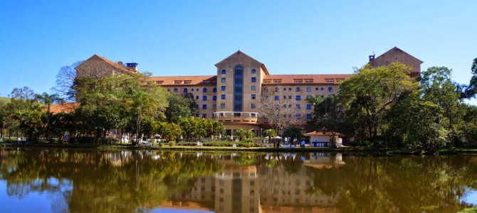 Visita ao Tauá Grande Hotel e Termas de Araxá