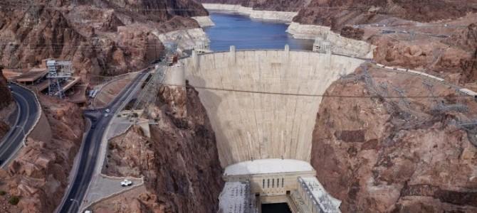 Visita a Hoover Dam, pertinho de Las Vegas