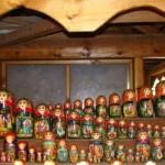Artesanato Russo no Mercado Ismailovo