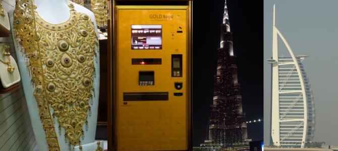 10 provas que o dinheiro tá sobrando… em Dubai