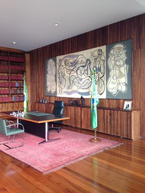 interior palacio alvorada