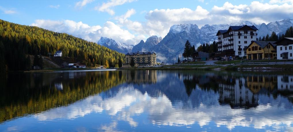 Roteiro de carro pelas Dolomitas, os alpes italianos